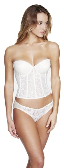 Dominique Dominique Pushup Longline Bridal Bra 7759 Ivory Size 36B