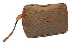 Gucci Vintage Purse Tan Clutch