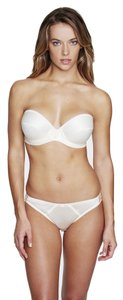 Dominique Dominique Low Plunge Strapless Bra 8103 Ivory Size C
