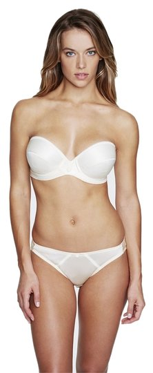Preload https://item3.tradesy.com/images/dominique-ivory-low-plunge-strapless-bra-8103-size-36c-4037707-0-0.jpg?width=440&height=440