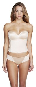 Dominique Dominique Hidden Underwire Longline Bridal Bra 8541 Nude Size DD
