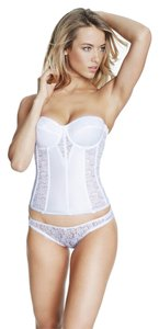 Dominique Dominique Lace Corset Bridal Bra 8949 White Size D