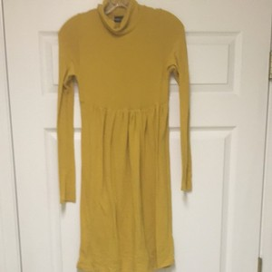 Wet Seal short dress Gold on Tradesy