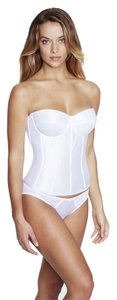 Dominique Dominique Satin Corset Bridal Bra 8950 White Size D