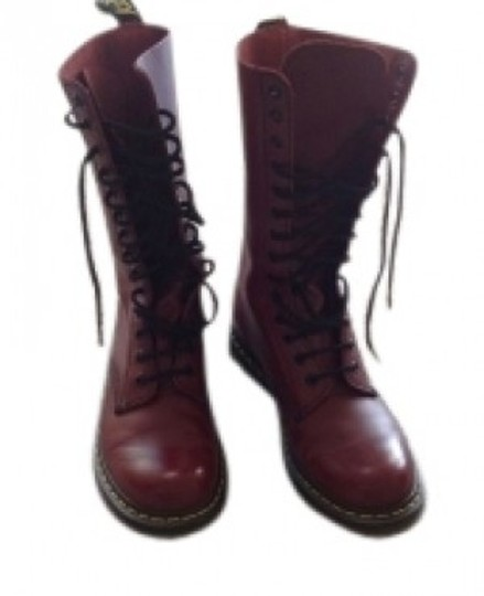 Preload https://item2.tradesy.com/images/dr-martens-brick-red-bootsbooties-size-us-8-regular-m-b-40391-0-0.jpg?width=440&height=440