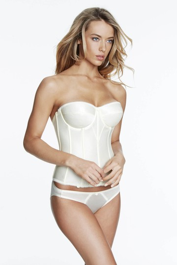 Dominique Dominique Satin Corset Bridal Bra 8950 Ivory Size D