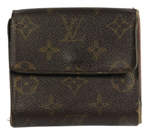 Louis Vuitton * Elsie Monogram Leather Wallet - Brown