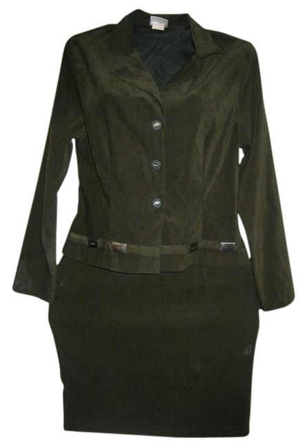 Preload https://item2.tradesy.com/images/olive-green-military-style-skirt-suit-size-12-l-403946-0-0.jpg?width=400&height=650
