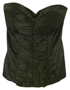 Charlotte Russe Top Black Satin