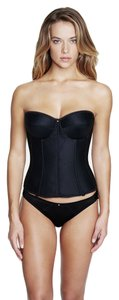 Dominique Dominique Satin Corset Bridal Bra 8950 Black Size F