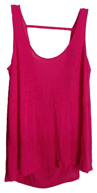 American Eagle Outfitters Hot Pink Tank Top/Cami Size 2 (XS) American Eagle Outfitters Hot Pink Tank Top/Cami Size 2 (XS) Image 1