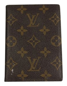 Louis Vuitton * Louis Vuitton CheckBook Monogram Wallet - Brown