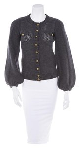 Marc by Marc Jacobs Grey Sweater Knit Cardigan