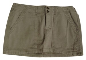 American Eagle Outfitters Mini Skirt Green