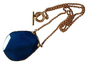 Janna Conner Blue Gemstone Pendant Necklace