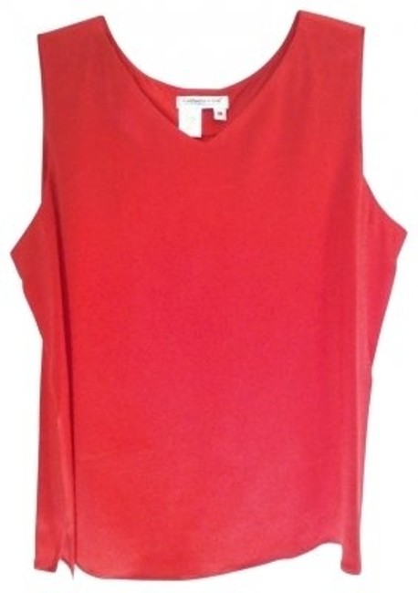 Preload https://item1.tradesy.com/images/coldwater-creek-salmon-v-neck-shell-1x-tank-topcami-size-20-plus-1x-40405-0-0.jpg?width=400&height=650