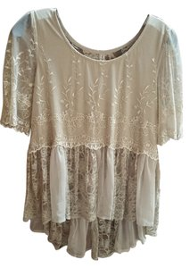 Free People Top Light Green