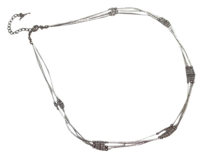 Item - Silver Beaded Necklace