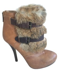 Dolce Vita Leather Rabbit New Light Brown Boots