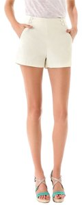 Rag & Bone Pique Sailor Dress Shorts Ivory