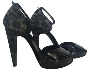Pierre Hardy Black Platforms