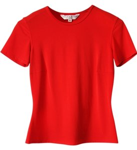 Trina Turk Small Top Orangey Red