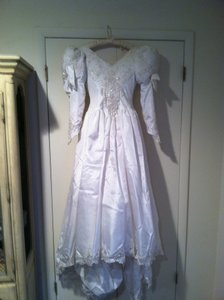Demetrios Custom Made Wedding Dress