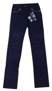 Marc Jacobs Navy Corduroy Cord Marc By Straight Pants Ivy Blue