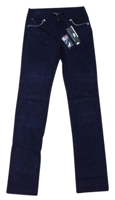 Marc Jacobs Navy Corduroy Cord By Straight Pants Ivy Blue