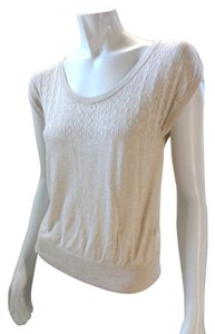 H&M Tan Sleeveless Stretchy Sweater