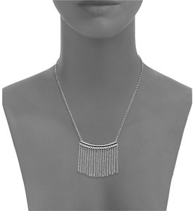 Rebecca Minkoff NWT!! JUST REDUCED PRICE! silver fringe necklace