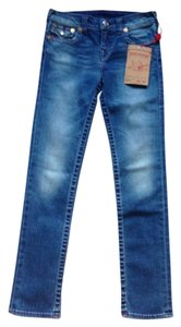 True Religion Children New New With Tags Denim Distressed Straight Leg Jeans-Distressed