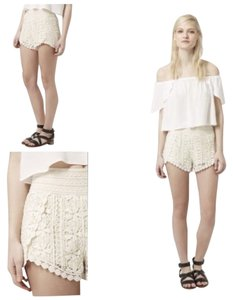 Topshop Shorts Cream