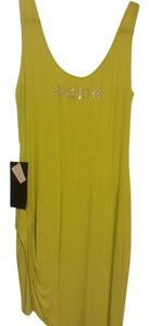 bebe short dress green Short Long Lime on Tradesy