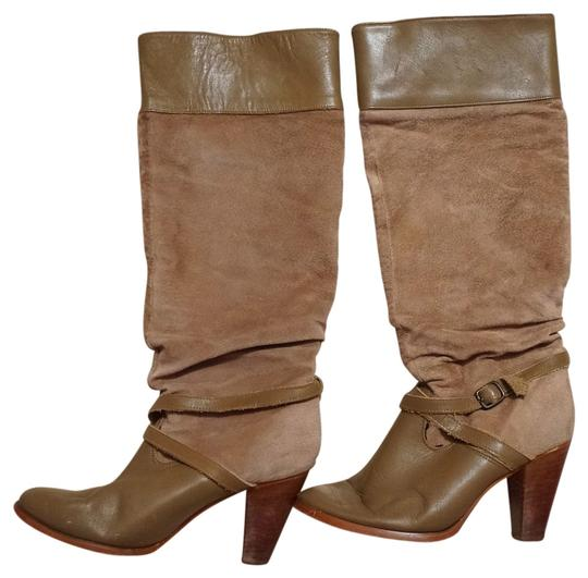 Preload https://item1.tradesy.com/images/tan-vintage-suede-leather-tall-slouchy-buckled-riding-bootsbooties-size-us-8-regular-m-b-404340-0-2.jpg?width=440&height=440
