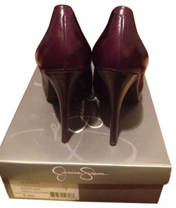 Jessica Simpson Eggplant Pumps