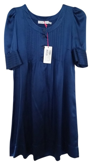 Preload https://item5.tradesy.com/images/see-by-chloe-royal-blue-pleated-cap-sleeve-semi-sheer-mid-length-cocktail-dress-size-2-xs-4043779-0-0.jpg?width=400&height=650