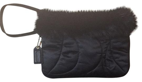 Preload https://item1.tradesy.com/images/coach-soho-black-fur-and-polyester-wristlet-4043800-0-0.jpg?width=440&height=440