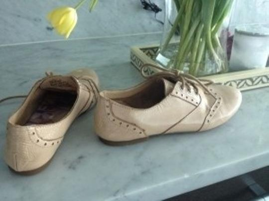 Born Ibis Pattent Nude Flats