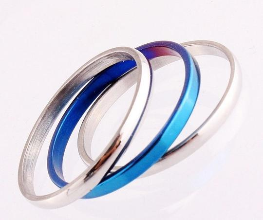 3 In 1 Stainless Steel Band Ring Free Shipping