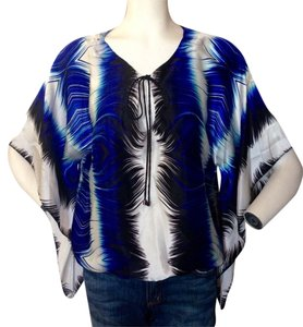 Alberto Makali Top Royal Blue/Navy/ White