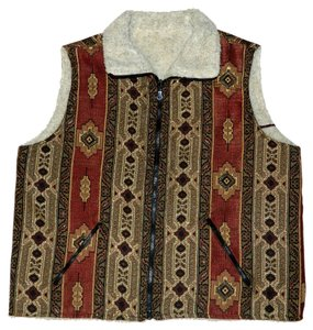 Blair Aztec Embroidered Vest