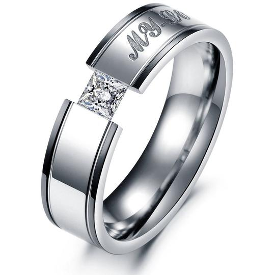 Valentine's Day Sale My Love Comfort Fit Wedding Band Free Shipping