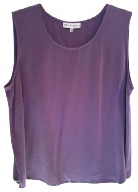 dressbarn Top Purple/Light Plum