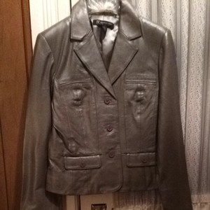 INC International Concepts Silver Blazer