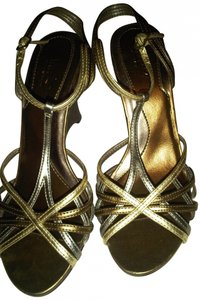 Mossimo Gold, Silver, Bronze Sandals