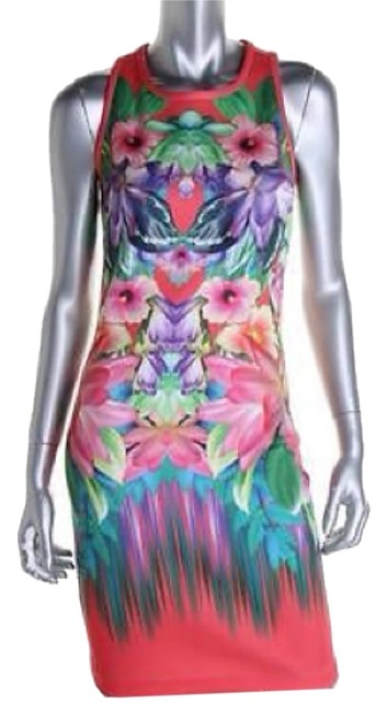 Laundry by Shelli Segal short dress Pink Multicolor on Tradesy