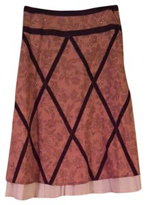 Anthropologie Skirt Brown