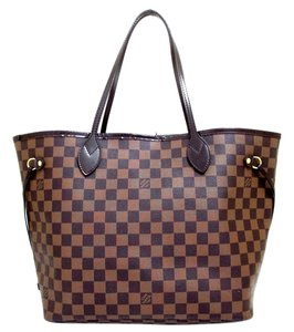 Louis Vuitton Tote Wallet Neverfull Mm Shoulder Bag