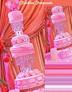 Crystal Clear Stand. This Diamond Princess Collection Is Dream For Any Bride Or Quinceanera It Has 2 Real Stands Cake Topper